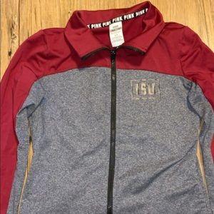 ISU Victoria's Secret zip-up jacket